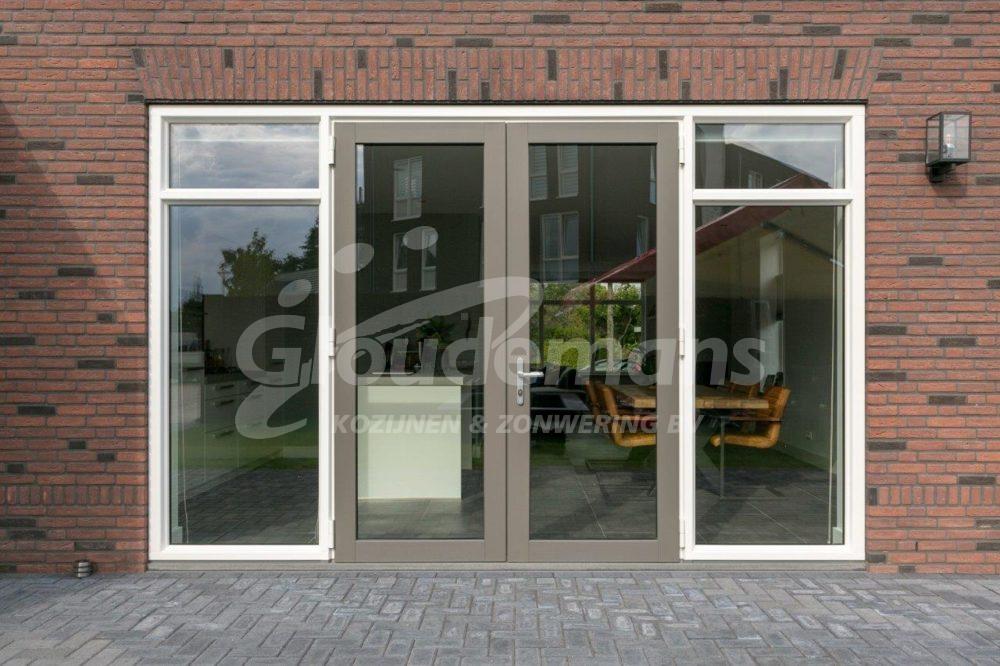 Gloudemans Kozijnen & Zonwering - referentie Rijsbergen - openslaande tuindeuren kunststof