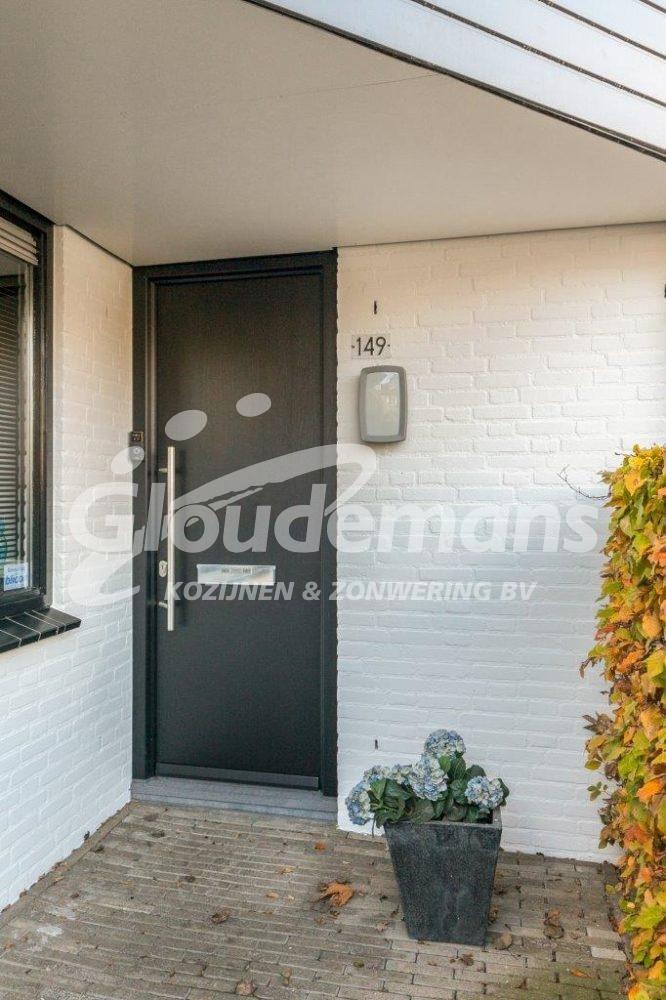Gloudemans Kozijnen & Zonwering - referentie Breda - kunststof kozijnen kunststof voordeur